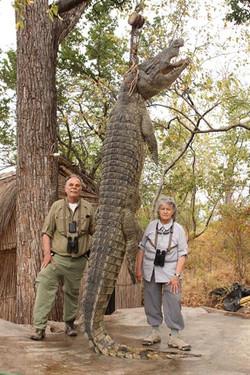 Larry Staab crocodile