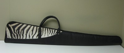 Zebra Shotgun Bag
