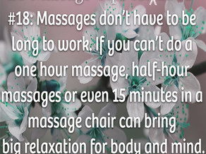 20 Massage Tips for (the rest of) 2020 #18