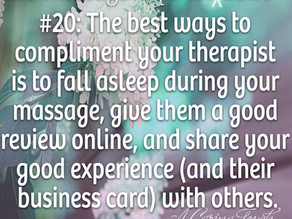 20 Massage Tips for (the rest of) 2020 #20