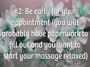20 Massage Tips For (the rest of) 2020 #2