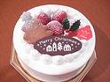 シンプルクリスマスケーキ