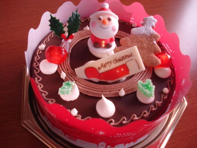 クリスマスケーキ バターチョコ