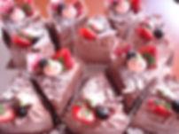 生チョコショートケーキ