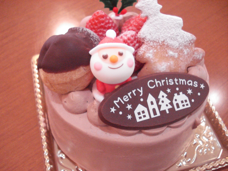 クリスマスケーキ生チョコ4号サイズ