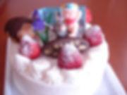 子供の日 生クリームケーキ