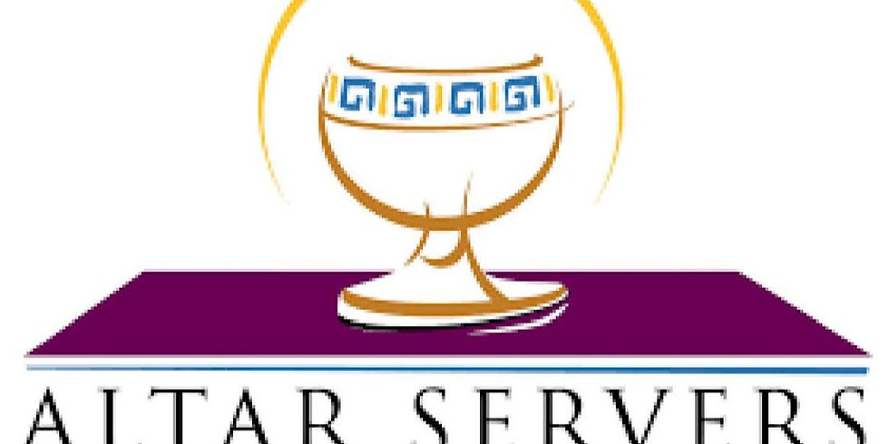 Altar Server Refresher & Training Session (07/07/21)