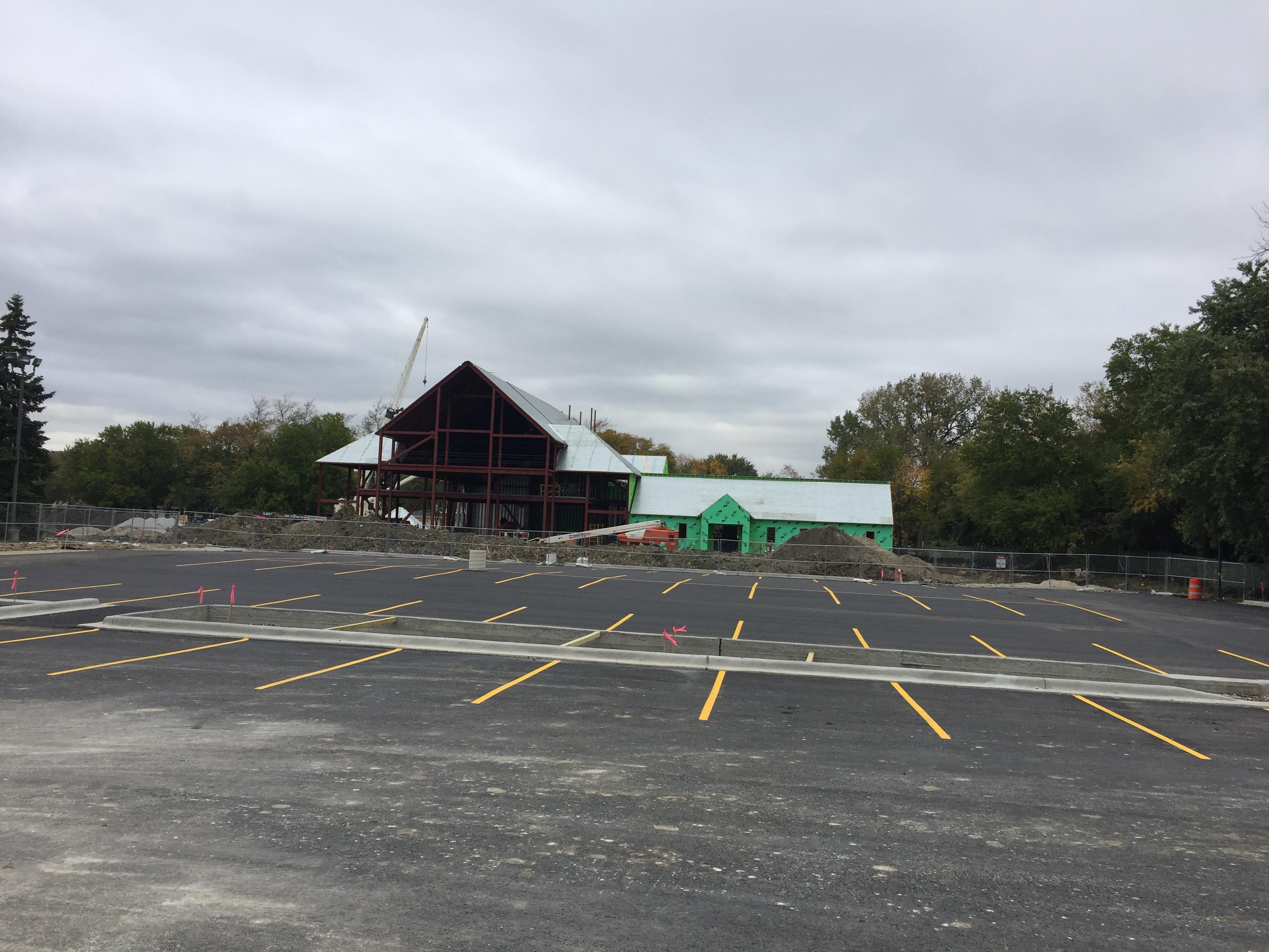Construction/Parking Lot 10-20-16