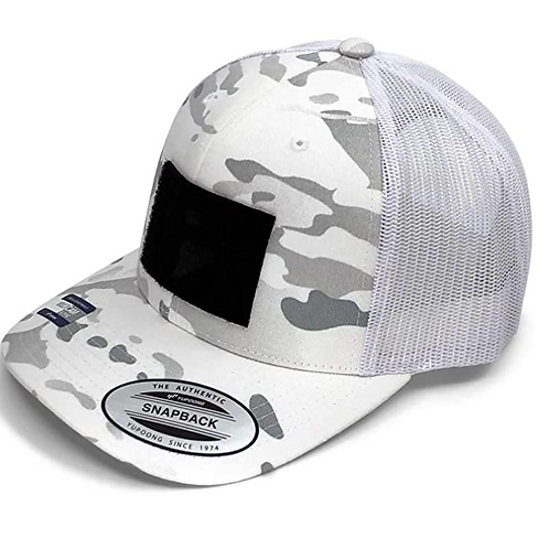 Curved Bill Winter Multicam Snapback