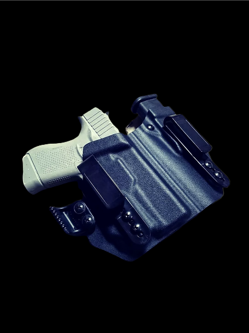 Glock 43x with TLR6-IWB-Appendix Holster