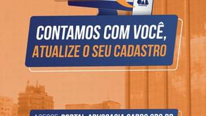 Atualize seu cadastro e vote nas Eleições 2021 da OAB/RS!