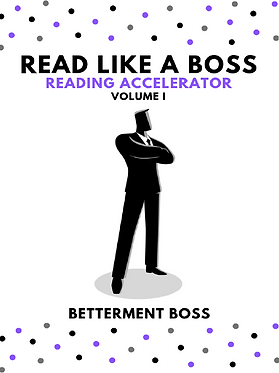 Reading Accelerator: Volume 1