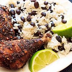 Caribbean Infused Jerk Chicken