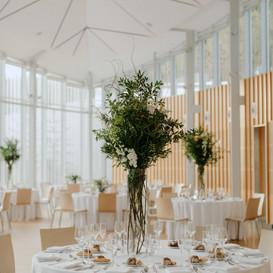 Brooklyn Botanical Garden Wedding Floral Design - Larkspur Botanicals