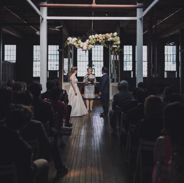 Metropolitan Building Long Island City Wedding Flowers