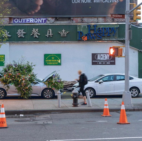 ZipCar Flower Flash NYC TimeLapse