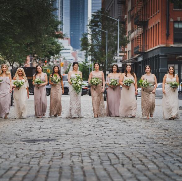 NYC Wedding Florist TRIBECCA ROOFTOP