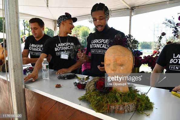Larkspur Botanicals Disney Maleficent Flower Bar at Bustle Rule Breakers 2019
