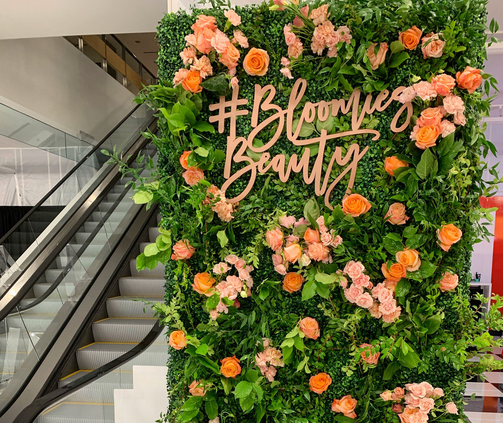 Larkspur Botanicals Bloomingdales Flower Wall