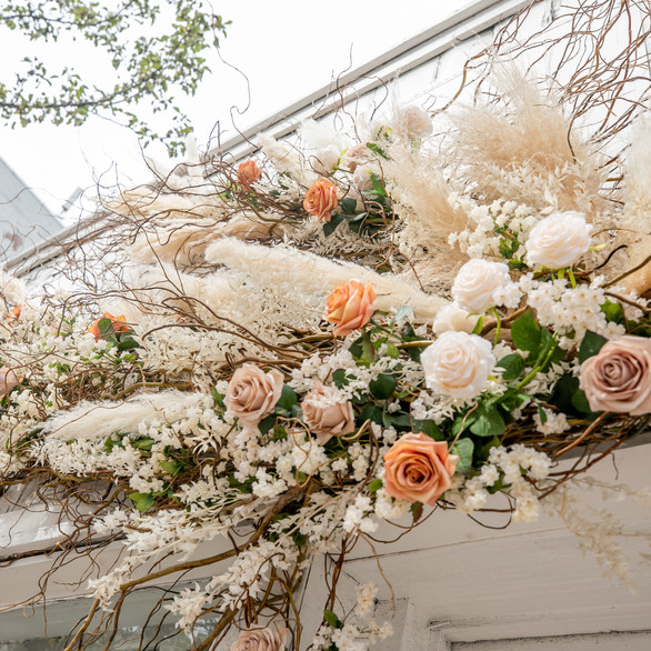 By Veronica Photography Floral Installation