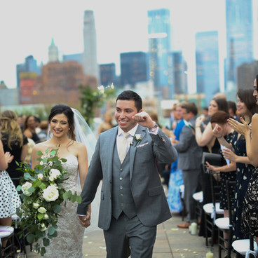 NYC Wedding Florist TRIBECCA ROOFTOP