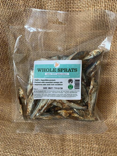 Whole dried sprats