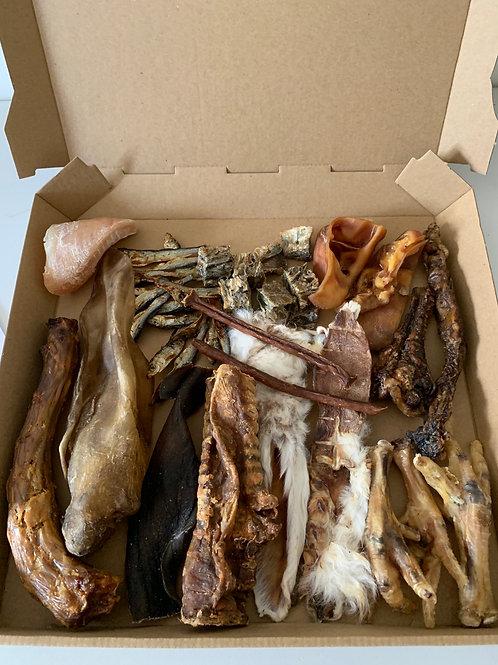 Meat/Fish variety treat box