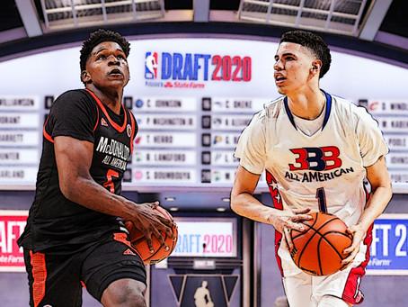 2020 NBA Draft Mock 1.0