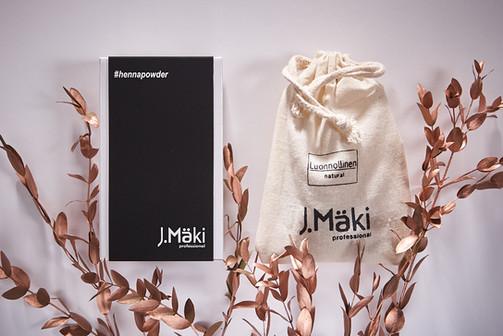 J.Mäki Professional Henna kasviväri 100% luonnollinen