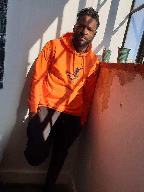 Soweto Surf  Orange Hoodie