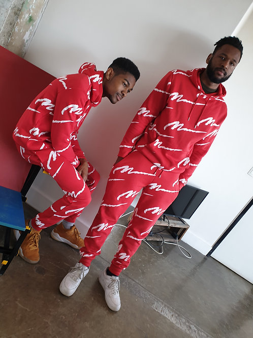 Red Logo Tracksuit