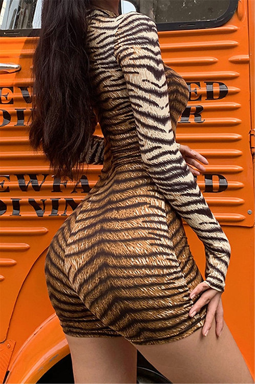 Tiger Playsuit