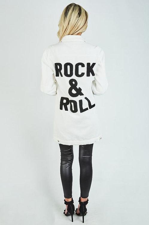 Rock & Roll  Denim Jacket