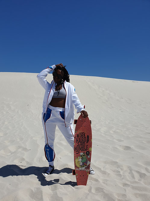 Soweto Surf White Tracksuit