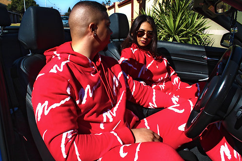 Red Sgnature Tracksuit