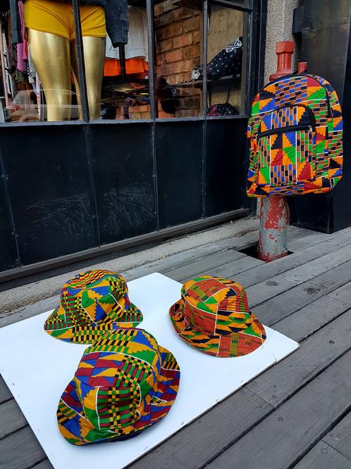 f91cdad76ad African Print Bucket Hats. R 400.00