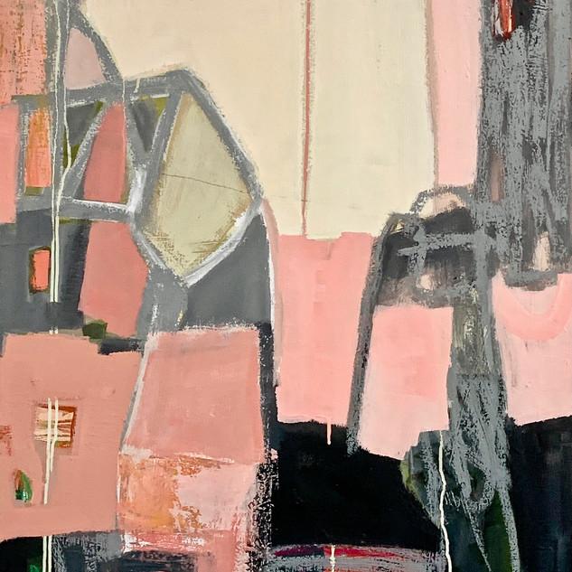 Claudia Grutke abstract paintings