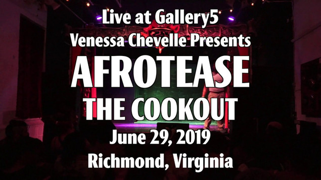 Twirlisha Devine at Vanessa Chevelle Presents Afrotease- THE COOKOUT