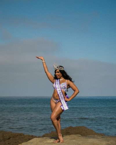 2018 Ambassador Queen - Bronze Beauties of Burlesque