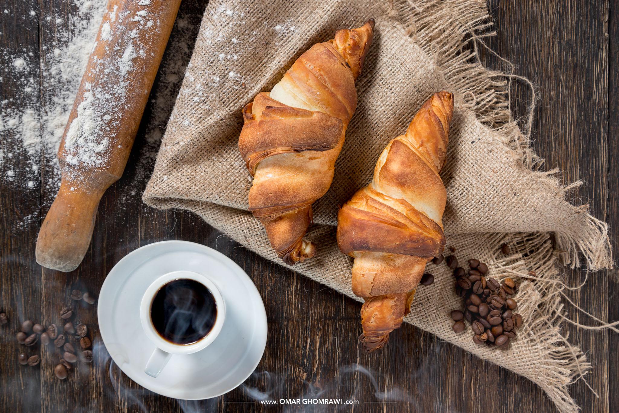 Croissant Coffee 8634