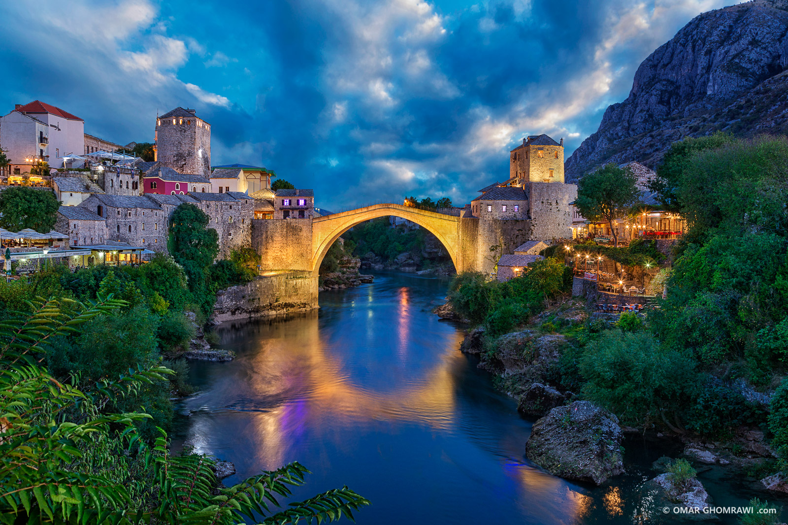 Mostar Bridge, Bosnia and Herzegovin