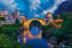 Mostar Bridge, Bosnia and Herzegovin