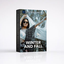 7 Lightroom Presets Winter and Fall