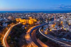 Tripoli Citadel Blue Hour, Lebanon