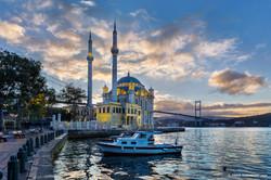 Ortakoy Cami Sunrise, Istanbul