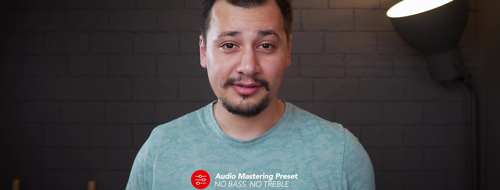 Audio Mastering Preset (Premier Pro)