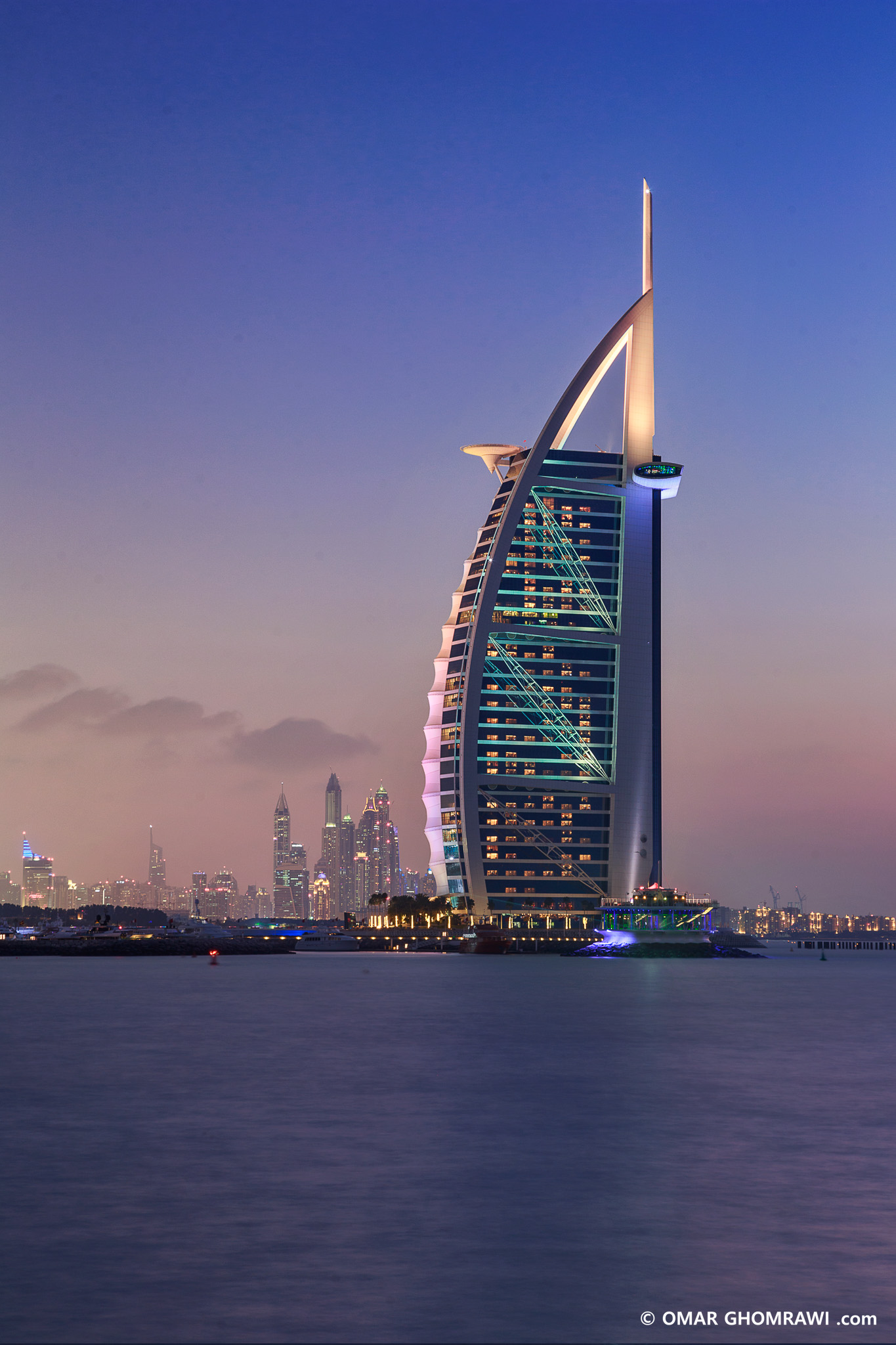 Burj Arab Blue Hour, Dubai