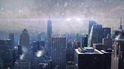 City 3D Projection