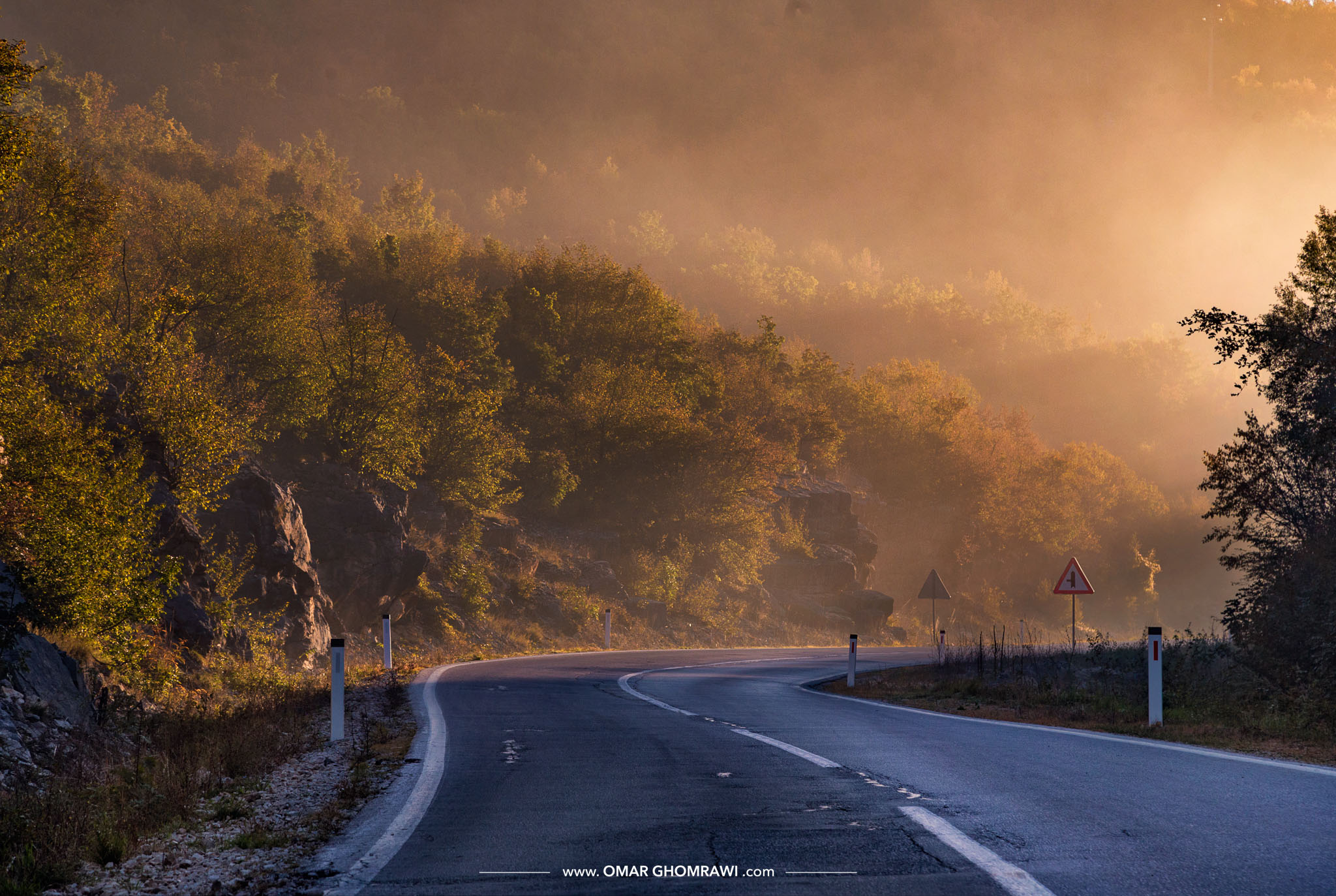 Way to Sutjeska Fog 3293