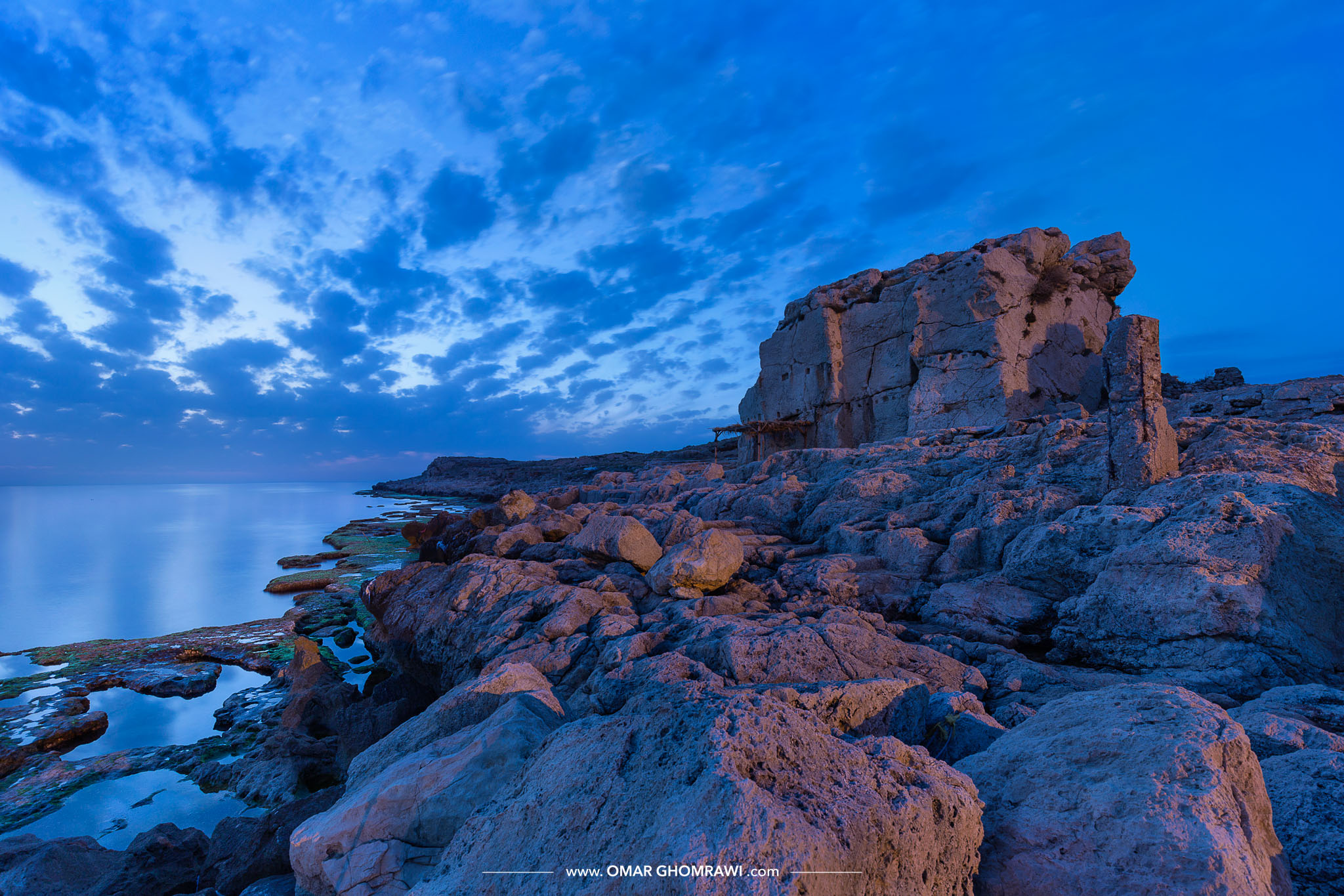 Anfeh Blue Hour Coast 0186